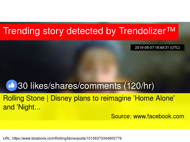Rolling Stone | Disney plans to reimagine '
