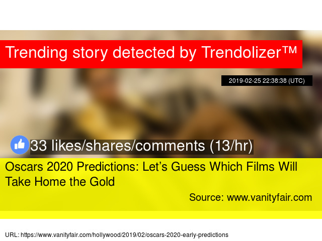 Oscars 2020 Predictions: Let's Guess Which Films Will Take