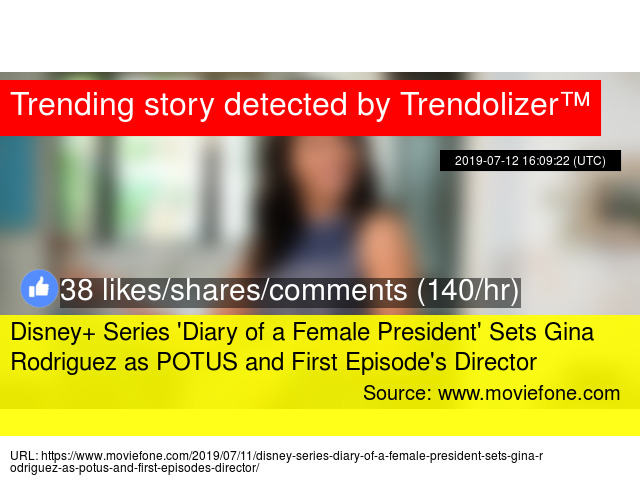 Disney+ Series 'Diary of a Female President' Sets Gina