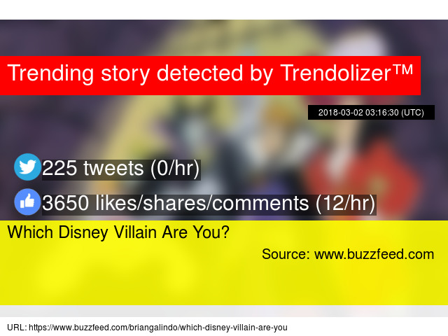 which villain are you buzzfeed