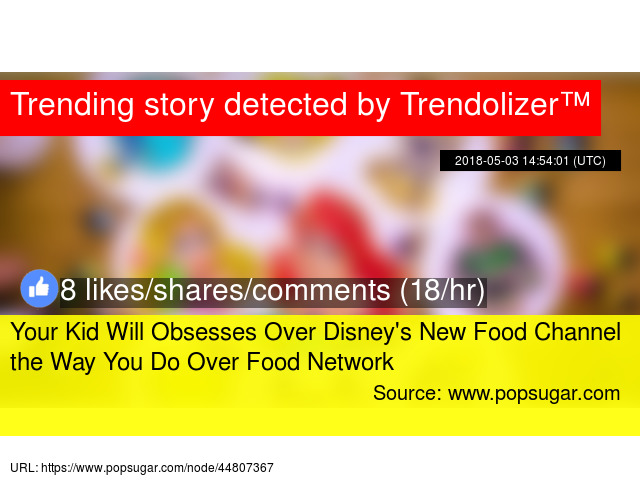 Your Kid Will Obsesses Over Disney039s New Food Channel The Way